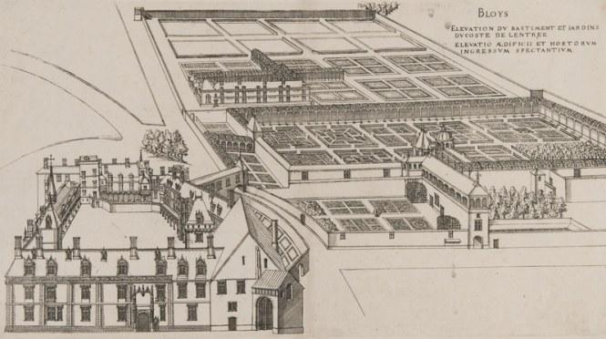 Blois, bastiment et jardins par J. A. du Cerceau