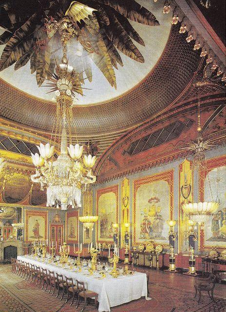 Le Pavillon royal, Brighton, la salle des banquets.