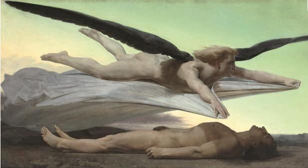 """""""Egalité devant la mort"""" d'Adolf-William Bouguereau (1848) © Musée d'orsay, patrice Schmidt"""