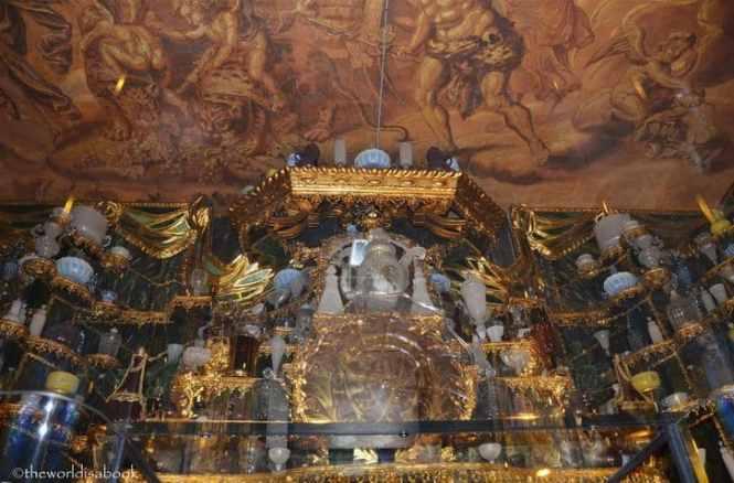 Le cabinet de verres du château de Rosenborg