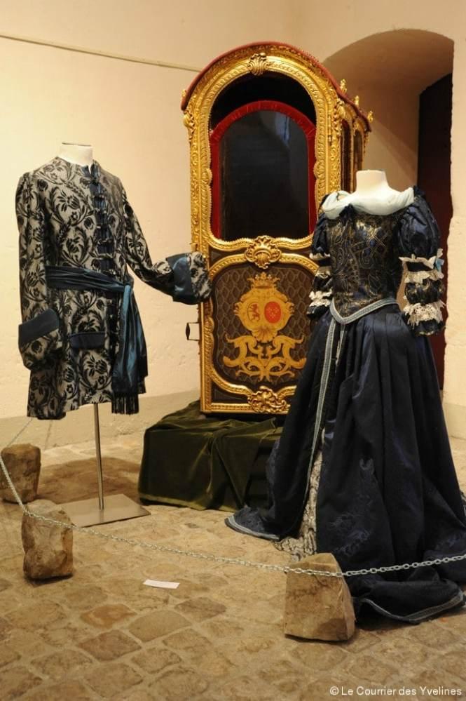 Les costumes d'époque. (crédit : Argos Laurent Bouëxière