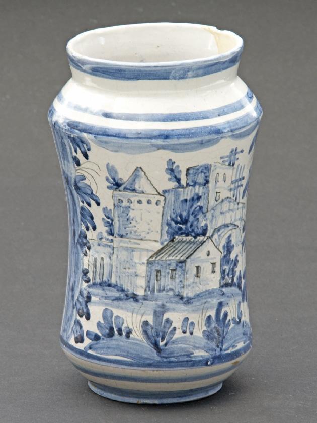 Pot De Pharmacie - Albarello du 18 ème siècle  (c)Gerber G. Gallery, Proantic