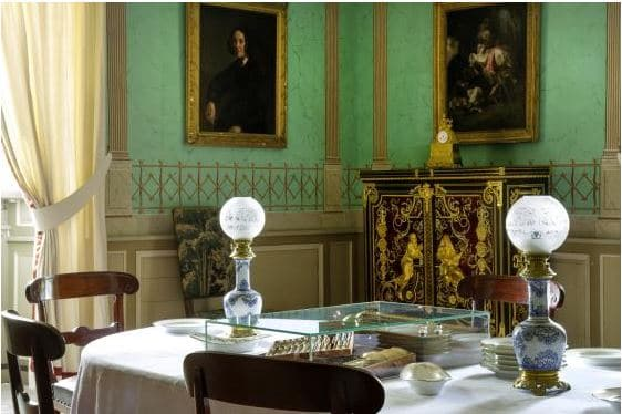 Salle à manger Musée Balzac-château de Saché