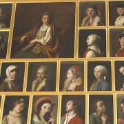 la « Salle des portraits » du Palais de Peterhof