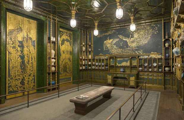 The Peacock Room. (c) Freer Gallery of Art à Washington