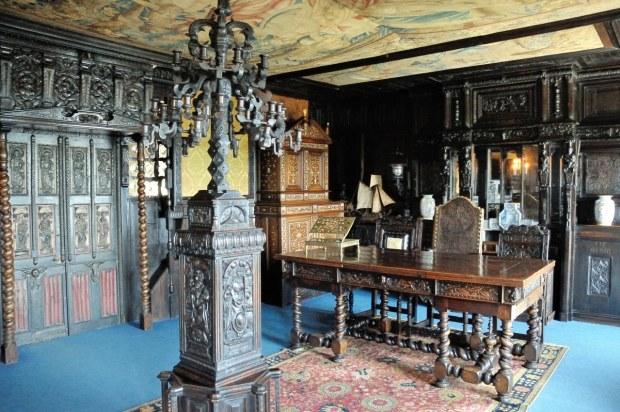 hauteville house maison de victor hugo guernesey le magazine de proantic. Black Bedroom Furniture Sets. Home Design Ideas