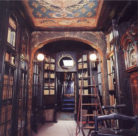Le palier bibliothèque, Hauteville house.