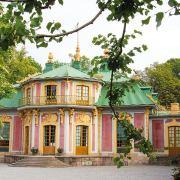Le pavillon chinois du Château de Drottningholm