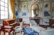 Le cabinet en camaïeu du château de Champs-sur-Marne