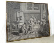 Papier peint en Grisaille, Joseph Dufour, XIXème