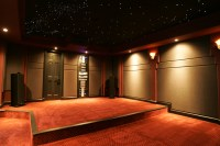 Home Theater Ceiling and Wall Panels - For Soundproofing