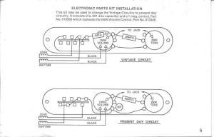 Vintage Versus Modern Telecaster Wiring  ProAudioLand