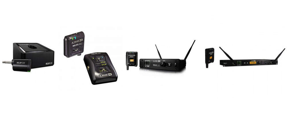 Line 6 Wireless Relay System Showdown: G10, G30, G55 and