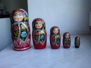 Matrushka dolls from Belarus