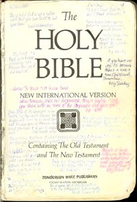 Bible front page