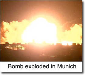 Bomb exploded in Munich