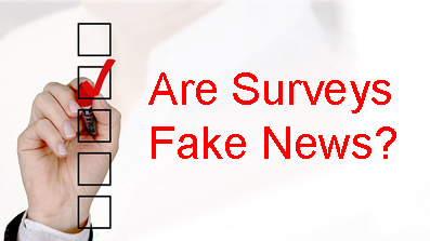 Probe dessert 3/7/19 about surveys and fake news