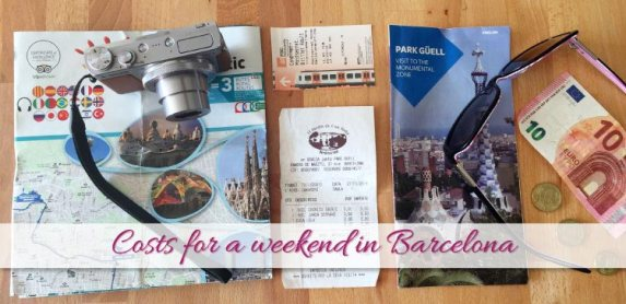 Costs for a weekend in Barcelona (What did we spend?)