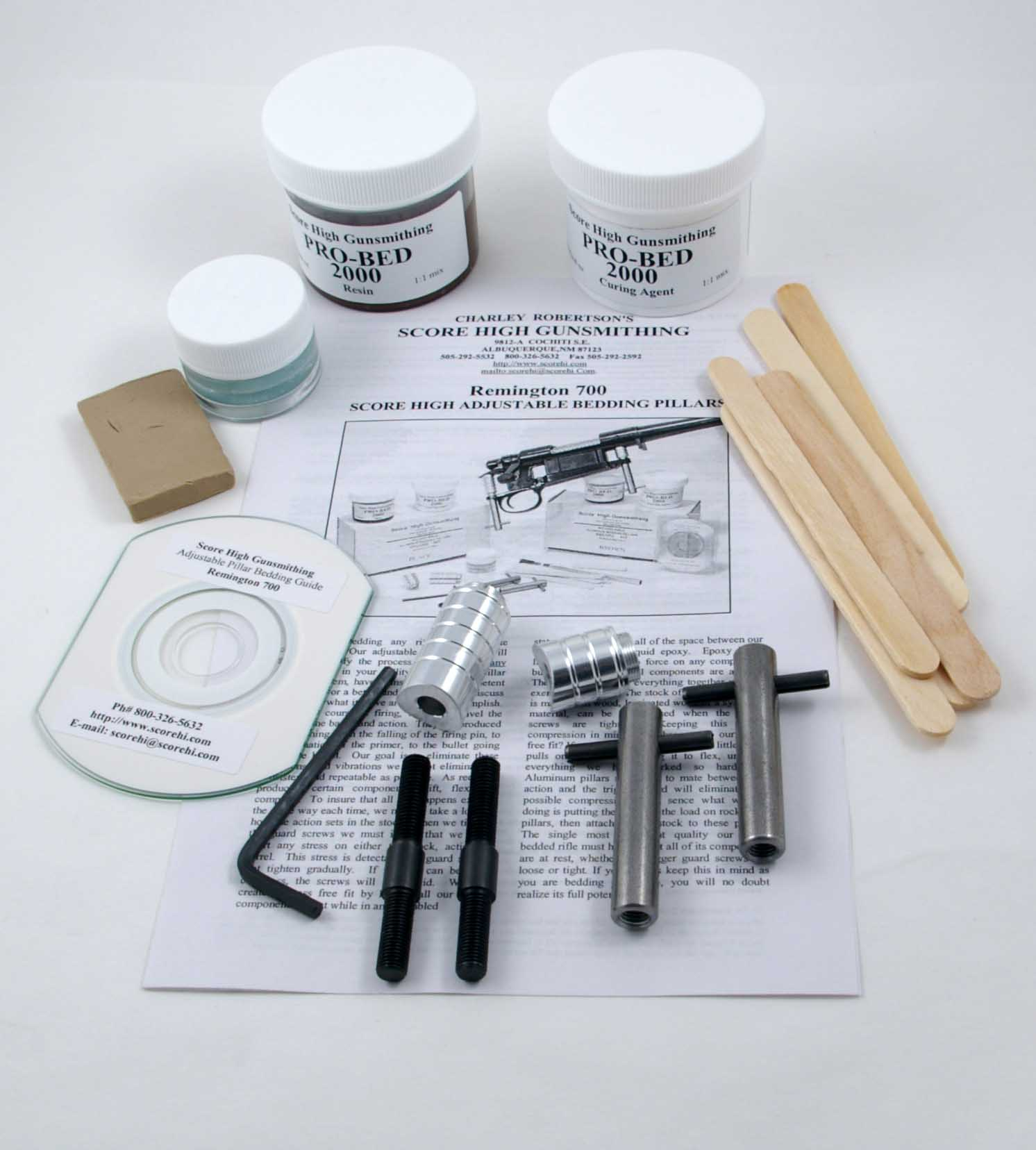 Aluminum Pillar bedding Kits