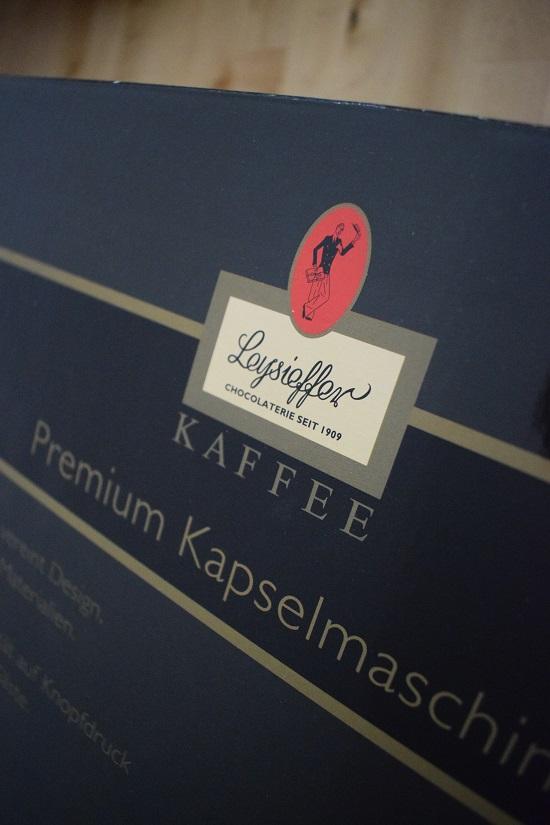 Leysieffer Kapselmaschine Logo Probenqueen