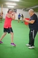 Probetraining, Boxen, ASKÖ Hallein, PTS, Trainer Harry Vogl, Hallein, 20171122, (c)wildbild