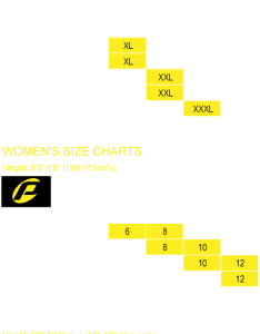 Wetsuit size charts also probe wetsuits australia surfing diving mens rh probewetsuits