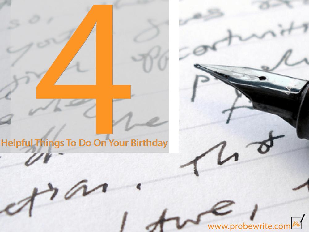 4 helpful things to