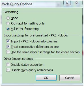Excel Tip - How to Import HTML Tables Into Excel - Microsoft Office ...
