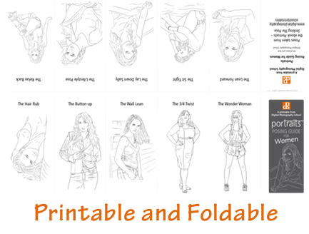 Grab our 67 Portrait Posing Printables Set for Just $10