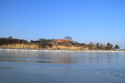 Winter 02 Eis Ostseebad Thiessow Insel Ruegen