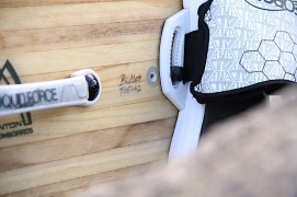 Anton Custom KiteBoard Bullet clear wood Proto 06