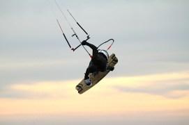 Anton Custom KiteBoard Bullet clear wood Proto 17