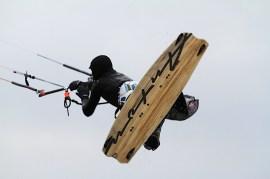 Anton Custom KiteBoard Bullet clear wood Proto 19