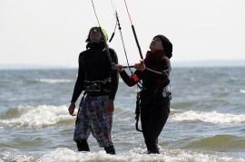 Kitesurfkurs Insel Ruegen Ostern 08