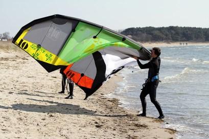 Kitesurfkurs Insel Ruegen Ostern 11