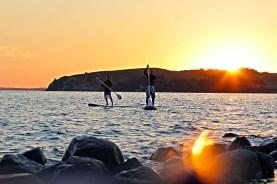 Insel Ruegen Longboarden Stand up Paddle 03