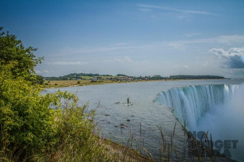 SUP Ruegen Wasserfall