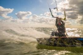 Kitesurfen im Mai auf der Insel Rügen