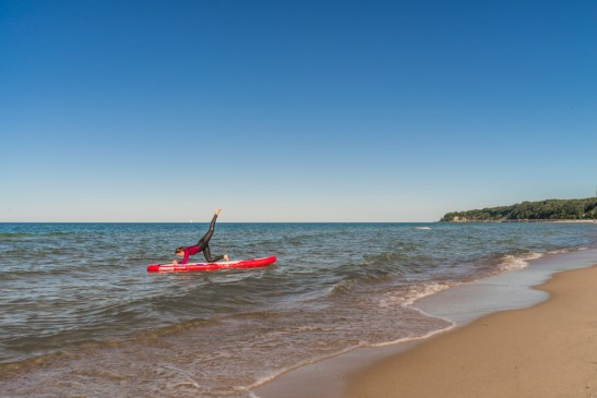 SUP Yoga Insel Rugen Ostsee