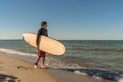 Wellenreiten Surfen Insel Ruegen Ostsee