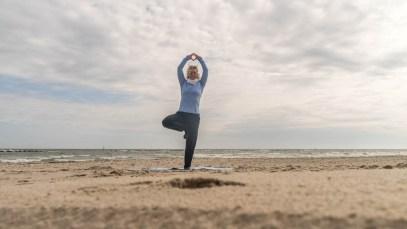 Yoga Ostseestrand Ruegen 04