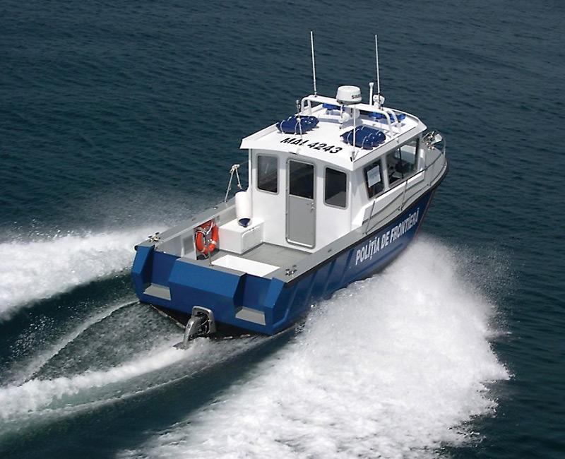 specmar refining metal boat