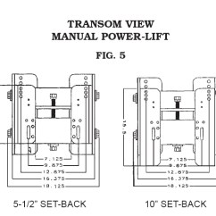 Cmc Jack Plate Wiring Diagram 700r4 Lockup Manual Stainless Steel - 65212-proboatparts.com