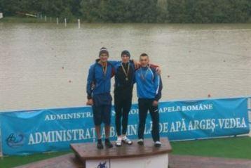 Medalii de aur si de bronz pentru canotorii de la CSM Braila