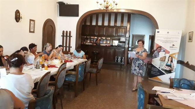 """al șaptelea workshop de informare și conștientizare din cadrul proiectului """"DELTA - DEzvoLTArea și inserția profesională a resurselor umane inactive din Regiunea Sud-Est"""""""
