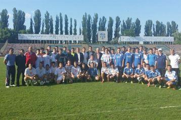 Burleanu a vizitat echipele de juniori de la CF Braila