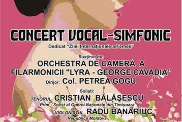 "Concert vocal-simfonic dedicat Zilei Internationale a Femeii"""