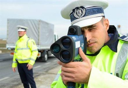 Polițiștii acționează cu toate aparatele radar în săptămâna T.I.S.P.O.L. Speed