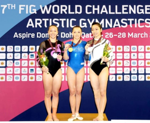 Patru medalii la Cupa Mondiala pentru gimnastica romaneasca