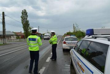 Polițiștii de la rutieră vor fi cu ochii pe transportatori